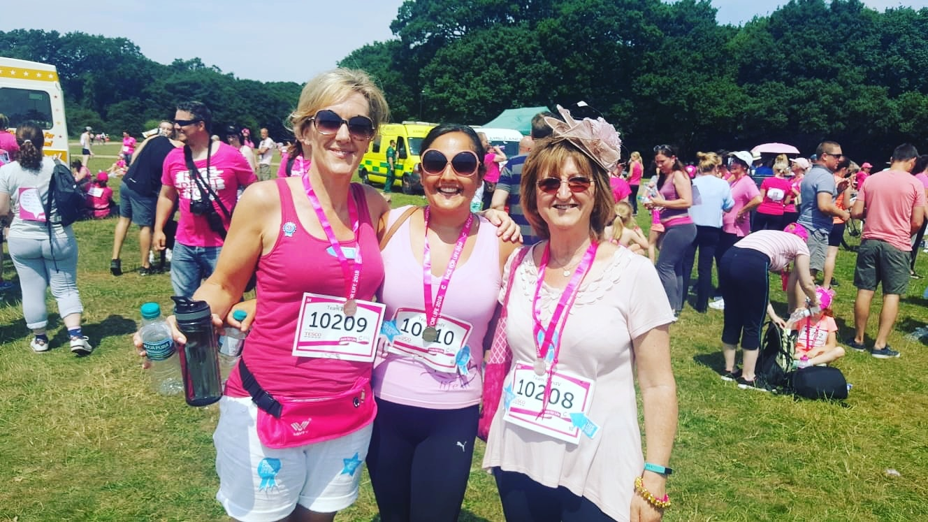 Race For Life - medal shot
