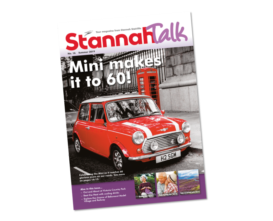 From the Mini to Miriam Stoppard: StannahTalks to the UK!